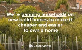 Conservative leasehold ban ad