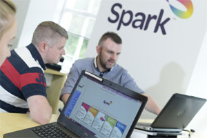 Spark new technology image