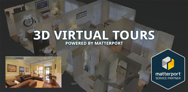 3D virtual tour image