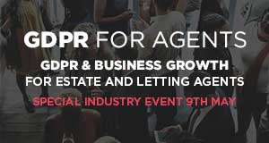 GDPR For Agents GDPR and Business Growth For Estate and Letting Agents 2018 image