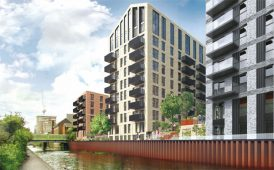 Birmingham luxury waterside apartments image