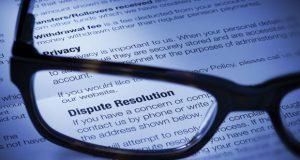 Dispute Resolution document image