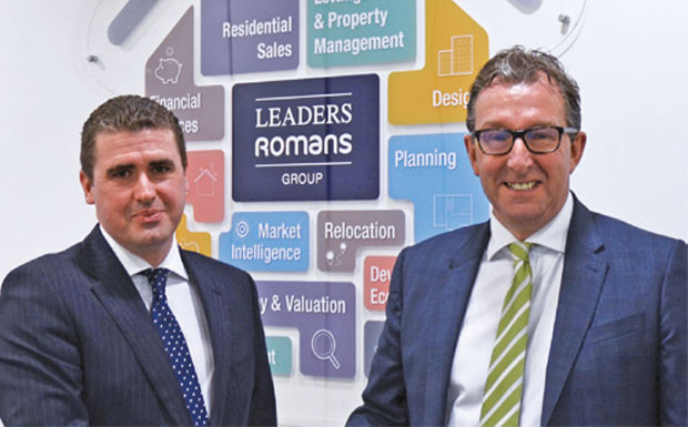 Mark Hughes and Kevin Shaw of Leaders image