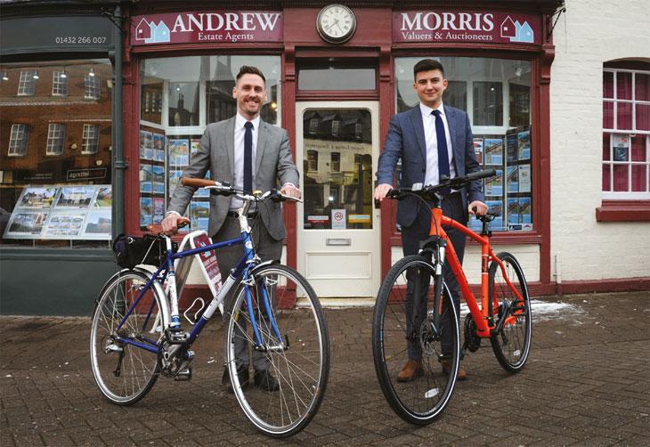 Andrew Morris fundraising image