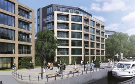 Nottingham waterfront apartments image