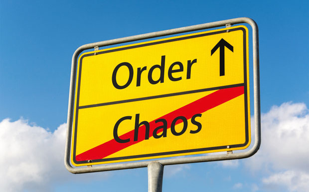 Order & Chaos road sign
