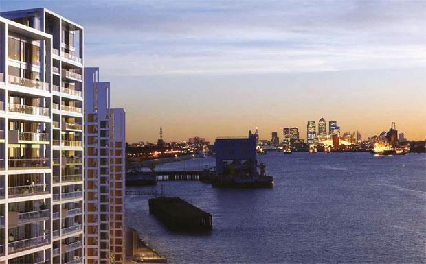 Royal Arsenal Riverside development image