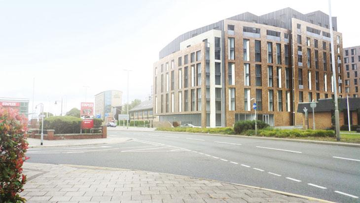 Residential development, Kirkstall Road, Leeds