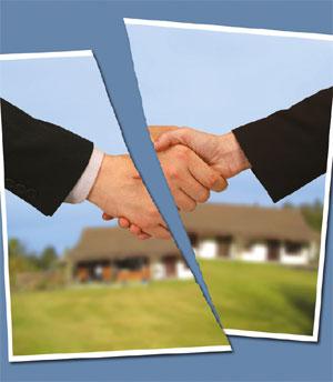 Broken agreement image