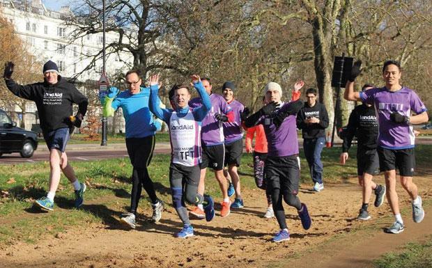 Training for Paris Marathon in Hyde Park image