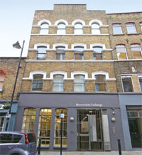 Conway was the leaseholder of a flat in the Bermondsey Exchange building - South London image