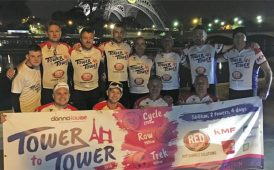 SDL supporting 'Tower to Tower' charity image