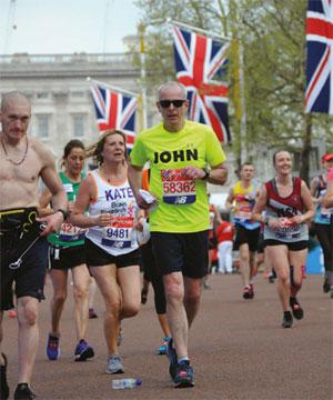 John Vickery fundraising marathon image