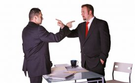 Business partner dispute image