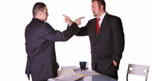 Business partner dispute image