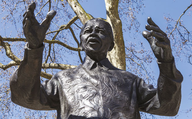 Statue of leader image