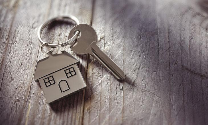 House keyring image