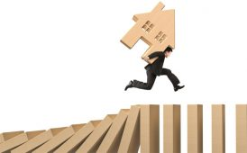 Sales progression domino effect image