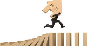 Sales progression domino effect image