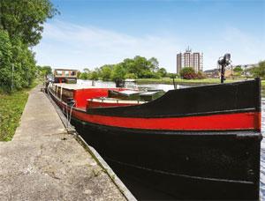 Dutch barge image