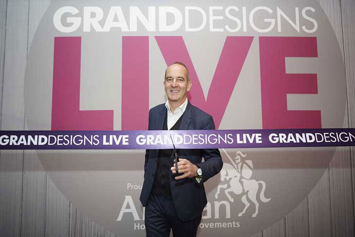 Grand Designs Live opening image