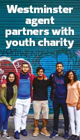 Westminster Agent partners with Youth Charity