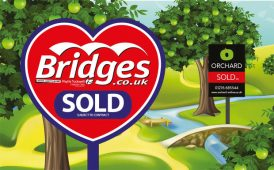 Bridges and Orchard signboards