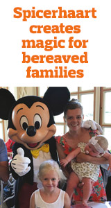 Community Spicerhaart creates magic for bereaved families image