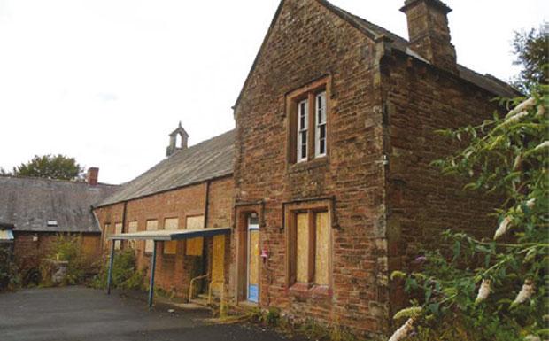 Brampton School - Cumbria - auctioned property image