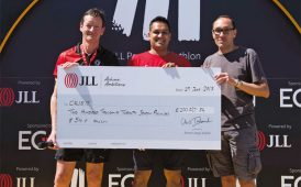 JLL fundraising for Crisis image