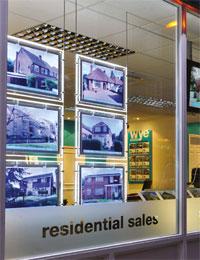 Kremer Signs LED window display image