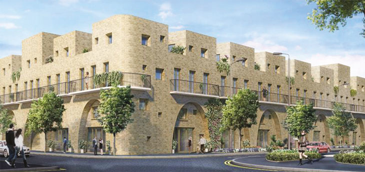 Stratford shared ownership development image