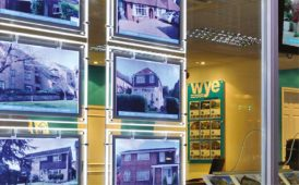 Kremer Signs LED window display image