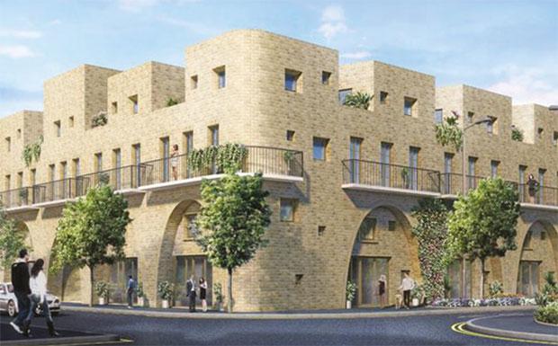 Stratford shared ownership development image