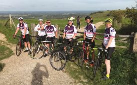 Spicehaart charity bike ride image