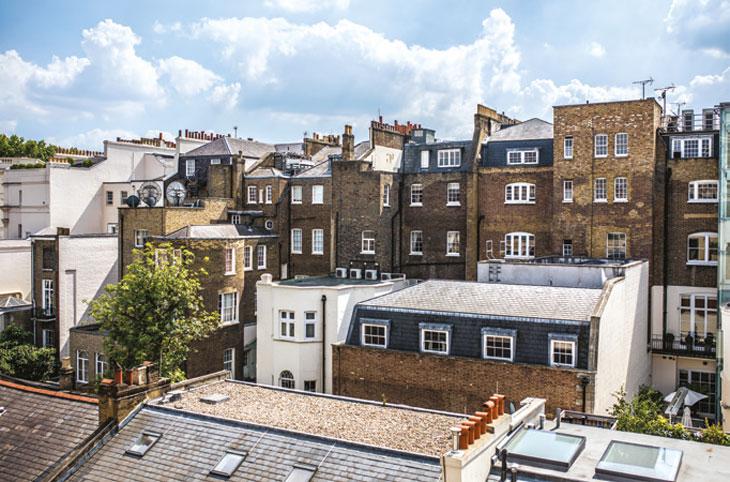 London rooftop development image