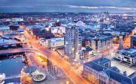 Belfast Aerial view Regional Report UK Property image