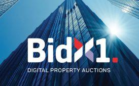 BidX1 logo image