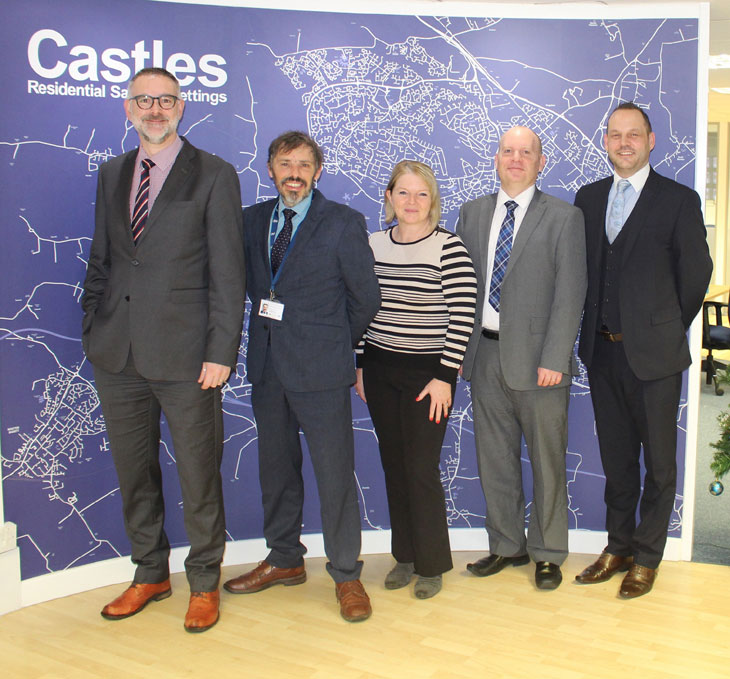 Castles' staff image