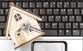 House on keyboard image