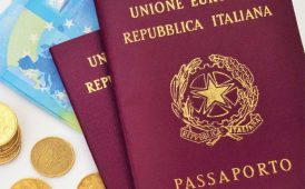 Italian passports image