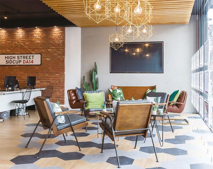 Estate agency interior image