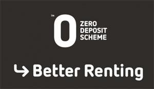 Better Renting Zero Deposit Scheme logo