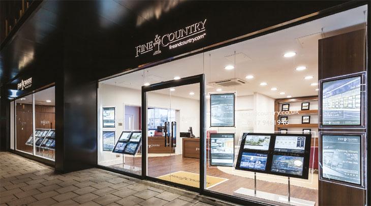 Fine & Country window display image