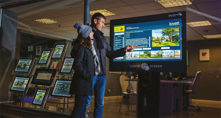 Lovett Touch screen technology image
