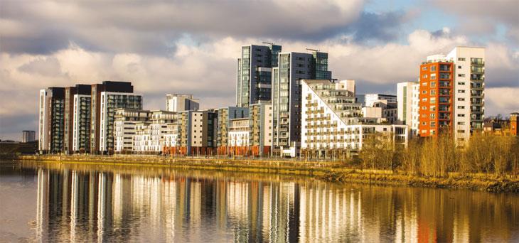 Scottish build-to-rent waterside properties image