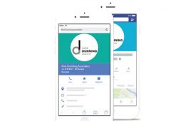 Nick Dunning Associates on mobile device image