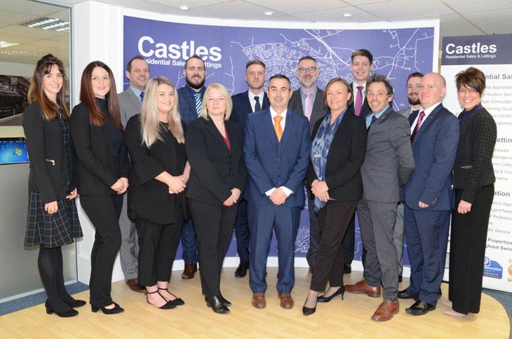Castles sales team image