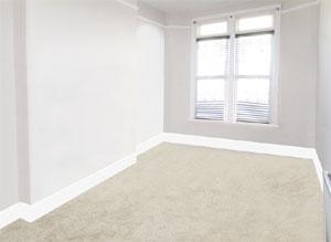 Decluttered room image