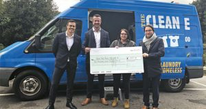 Edwards Fine & Country charity cheque image